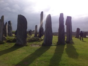 The stones at Callanish
